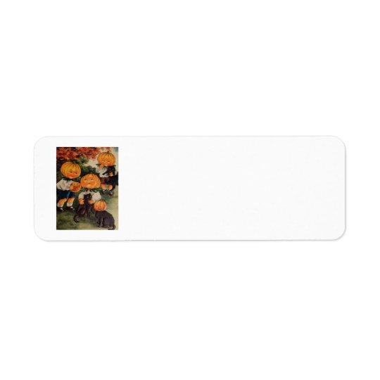 Pumpkinheads Return Address Label