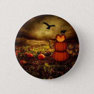 Pumpkinman 6 Cm Round Badge