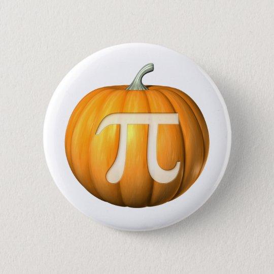 PumpkinPi 6 Cm Round Badge
