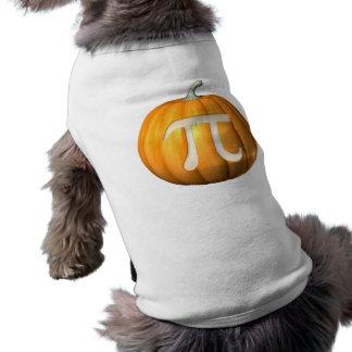 PumpkinPi Sleeveless Dog Shirt