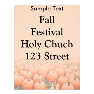 Pumpkins 21.5 Cm X 28 Cm Flyer