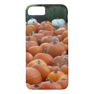 Pumpkins and Mums Autumn Harvest Photography iPhone 7 Case