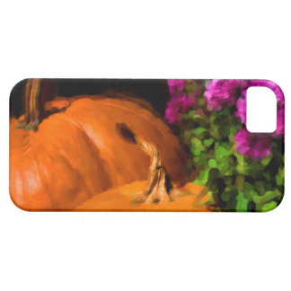 Pumpkins and Mums iPhone 5 Covers