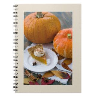 Pumpkins and Pie Notebook