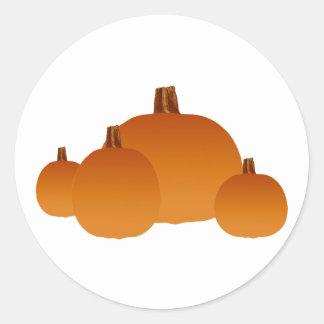 Pumpkins Assortment Stickers