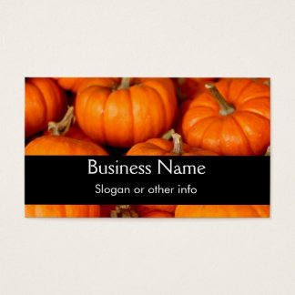 Pumpkins Business Card