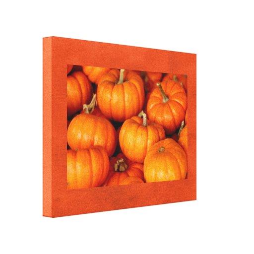 Pumpkins Canvas Prints