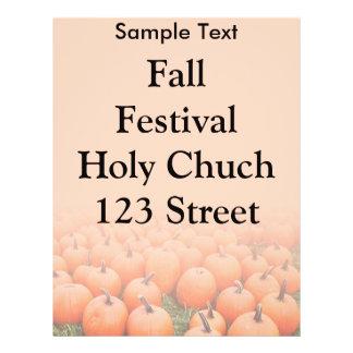 Pumpkins Full Color Flyer