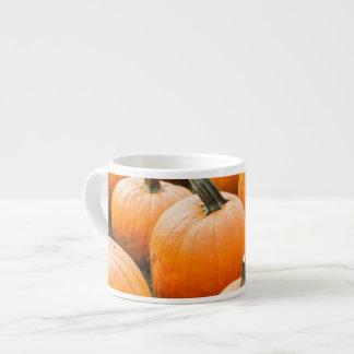 Pumpkins for Sale at a Farmer's Market Espresso Cup