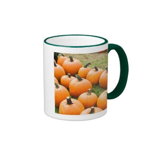 Pumpkins for Sale at a Farmer's Market Mug