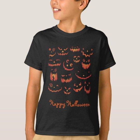 Pumpkins Glowing T-Shirt