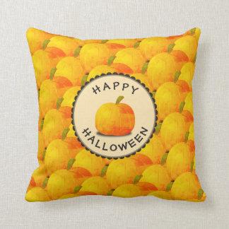 Pumpkins Happy Halloween Cushion