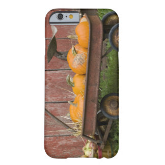 Pumpkins in old wagon barely there iPhone 6 case