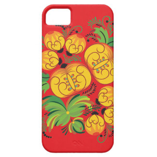 Pumpkins on Red iPhone 5 Cover