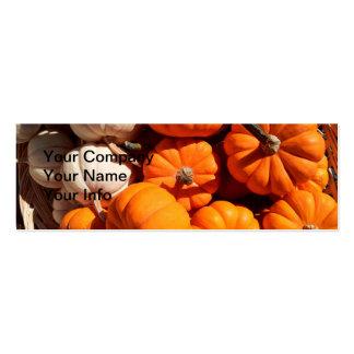 Pumpkins Pack Of Skinny Business Cards