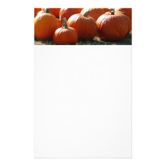 Pumpkins Photo for Fall, Halloween or Thanksgiving Stationery