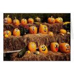 Pumpkins Pumpkins Everywhere! Note Card
