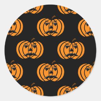 Pumpkins Round Sticker