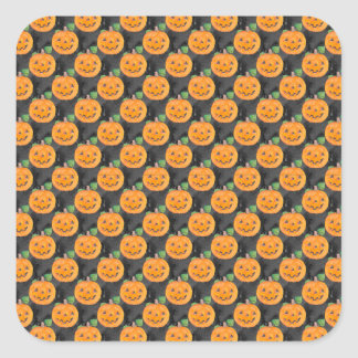 Pumpkins Square Sticker