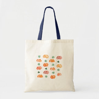 Pumpkins with Leaves Budget Tote