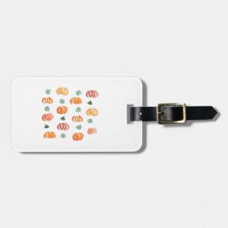 Pumpkins with Leaves Luggage Tag
