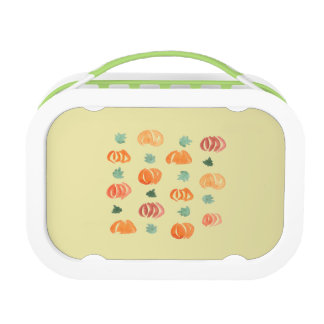 Pumpkins with Leaves Lunch Box