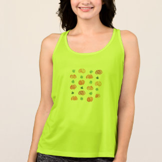 Pumpkins with Leaves Women's Performance T-Shirt