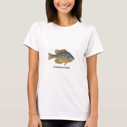 Pumpkinseed Sunfish (titled) T-Shirt