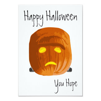 Pumpkinstein: Happy Halloween - You Hope Card
