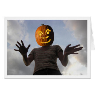 Pumpkinwoman Card