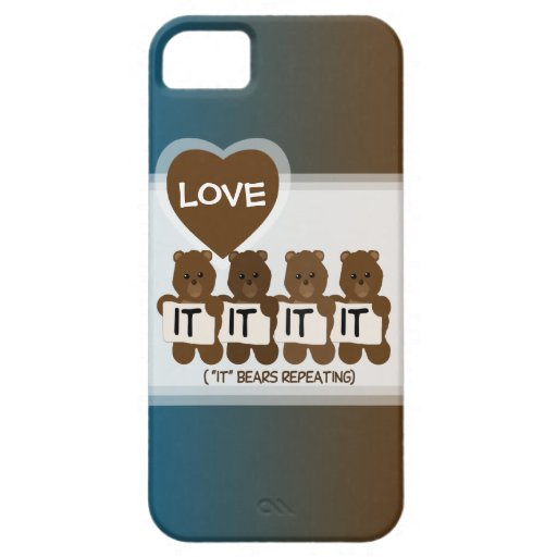 Pun: It Bears Repeating iPhone 5 Case