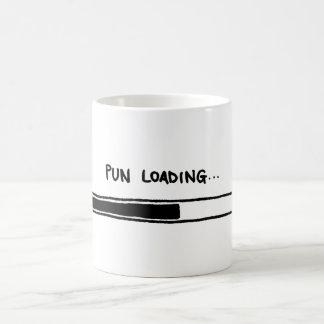 Pun Loading Coffee Mug