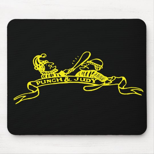 Punch and Judy Logo Mouse Pad