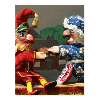 Punch and Judy Postcard