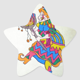 PUNCH & JUDY STAR STICKER