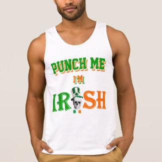 Punch me I m Irish T Shirts