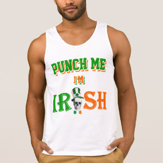 Punch me I'm Irish T Shirts