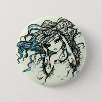 Punch of Color Musical Angel Girl Fairy Fantasy 6 Cm Round Badge