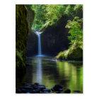 Punchbowl Falls Along Eagle Creek Trail 2 Postcard