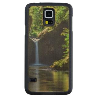 Punchbowl Falls Along Eagle Creek Trail Maple Galaxy S5 Slim Case