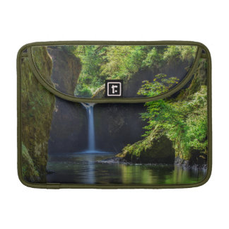 Punchbowl Falls Along Eagle Creek Trail Sleeves For MacBooks