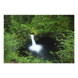 Punchbowl Falls on Eagle Creek, Columbia River Art Photo