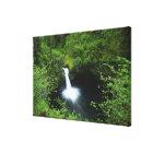 Punchbowl Falls on Eagle Creek, Columbia River Canvas Print