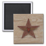 Punched Tin Star Magnet