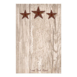 Punched Tin Star Stationery