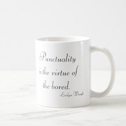Punctuality Mug