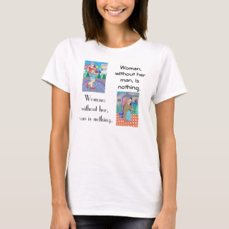 Punctuation is powerful! T-shirt
