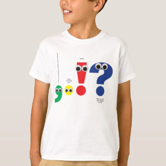 Punctuation People Tee Shirt
