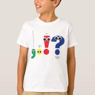 Punctuation People Tee Shirt