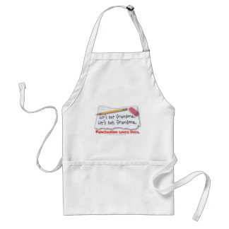 Punctuation Saves Lives Aprons